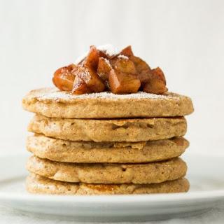 Apple Pie Pancakes {Whole Wheat}