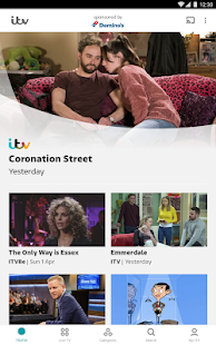 ITV Hub Screenshot