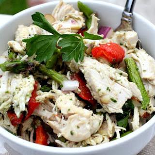 Paleo Chicken Salad with Herb Dressing