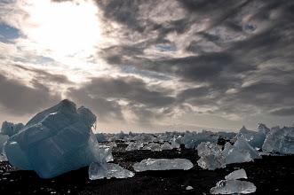 Photo: Entre los hielos, y el sol y nubes, el sitio era mágico!