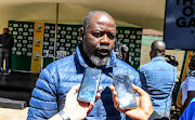 Thabang Moroe (CEO) of Cricket South Africa during the CSA 2019/2020 season launch at The Wanderers Club on September 26, 2019 in Johannesburg, South Africa.