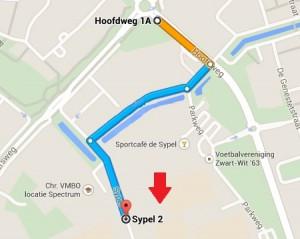 Routebeschrijving en locatie