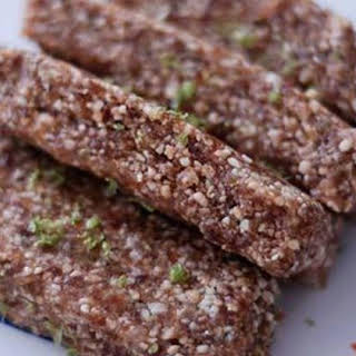 Raw Fruit and Nut Bars.