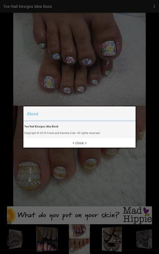 生活必備APP下載|Toe Nail Designs Idea Book 好玩app不花錢|綠色工廠好玩App