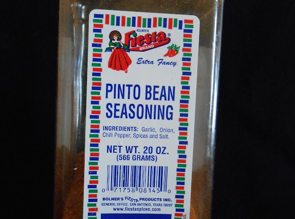 FOR PINTO BEAN SEASON RUB:  You can make as much or little as...