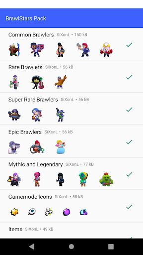 Brawl Stars Sticker Pack For Whatsapp 1.0 screenshots 1