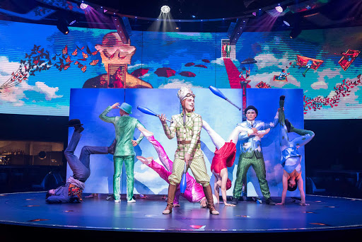 msc-meraviglia-Cirque-du-Soleil-at-Sea-4.jpg - Cirque du Soleil fans can look forward to two production shows per night on MSC's newest cruise ship, MSC Meraviglia.