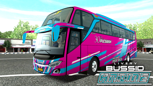 Livery Anime Bussid 1.2 screenshots 1