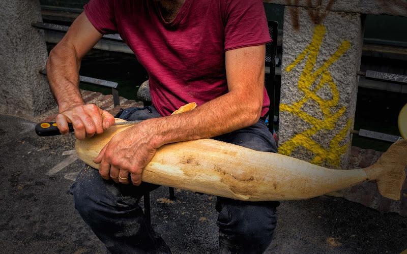 Dal legno, non solo pinocchio di Concetta Caracciolo