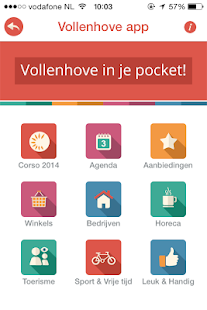 Vollenhove app- screenshot thumbnail