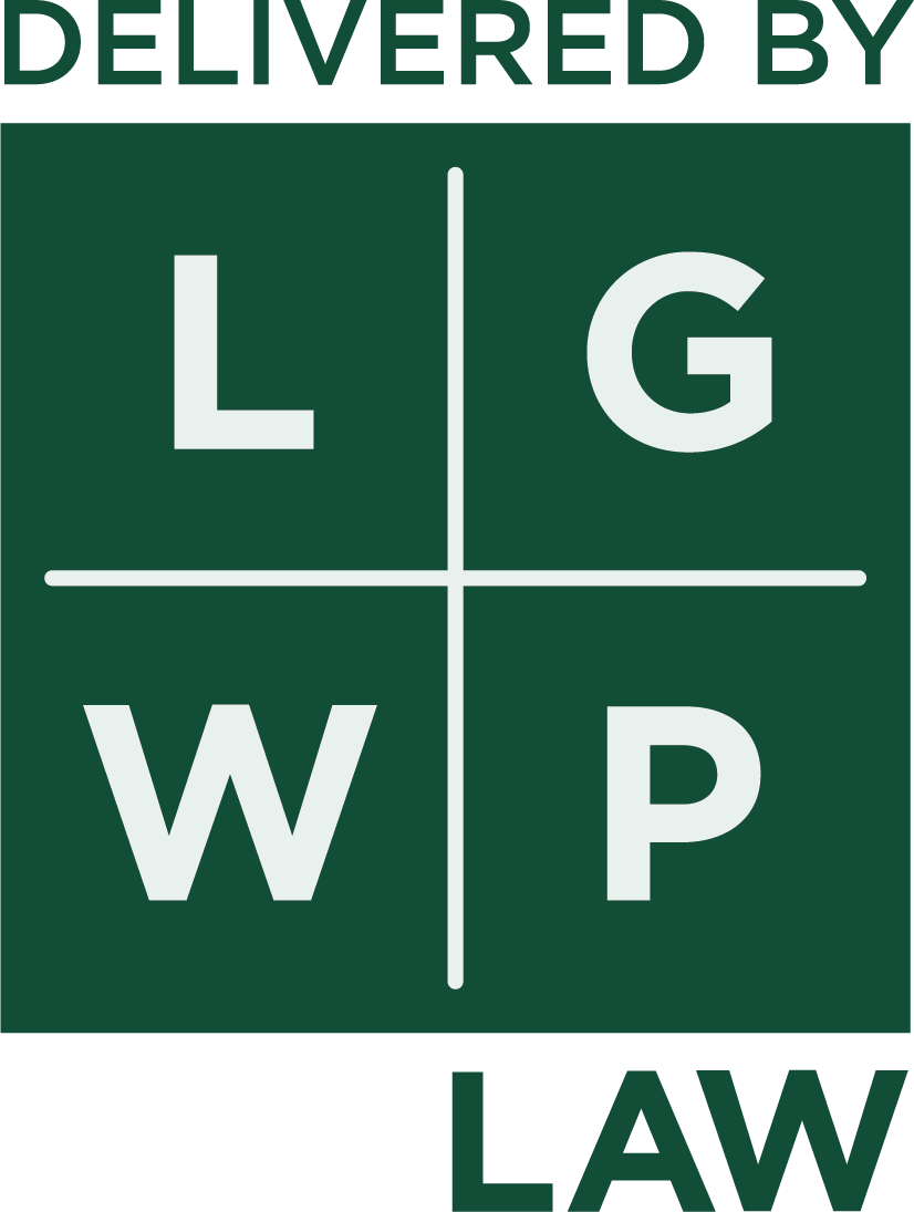 elivered by LGWP law