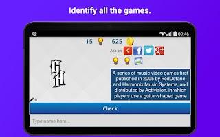 Screenshot of Games Logo Quiz Pro