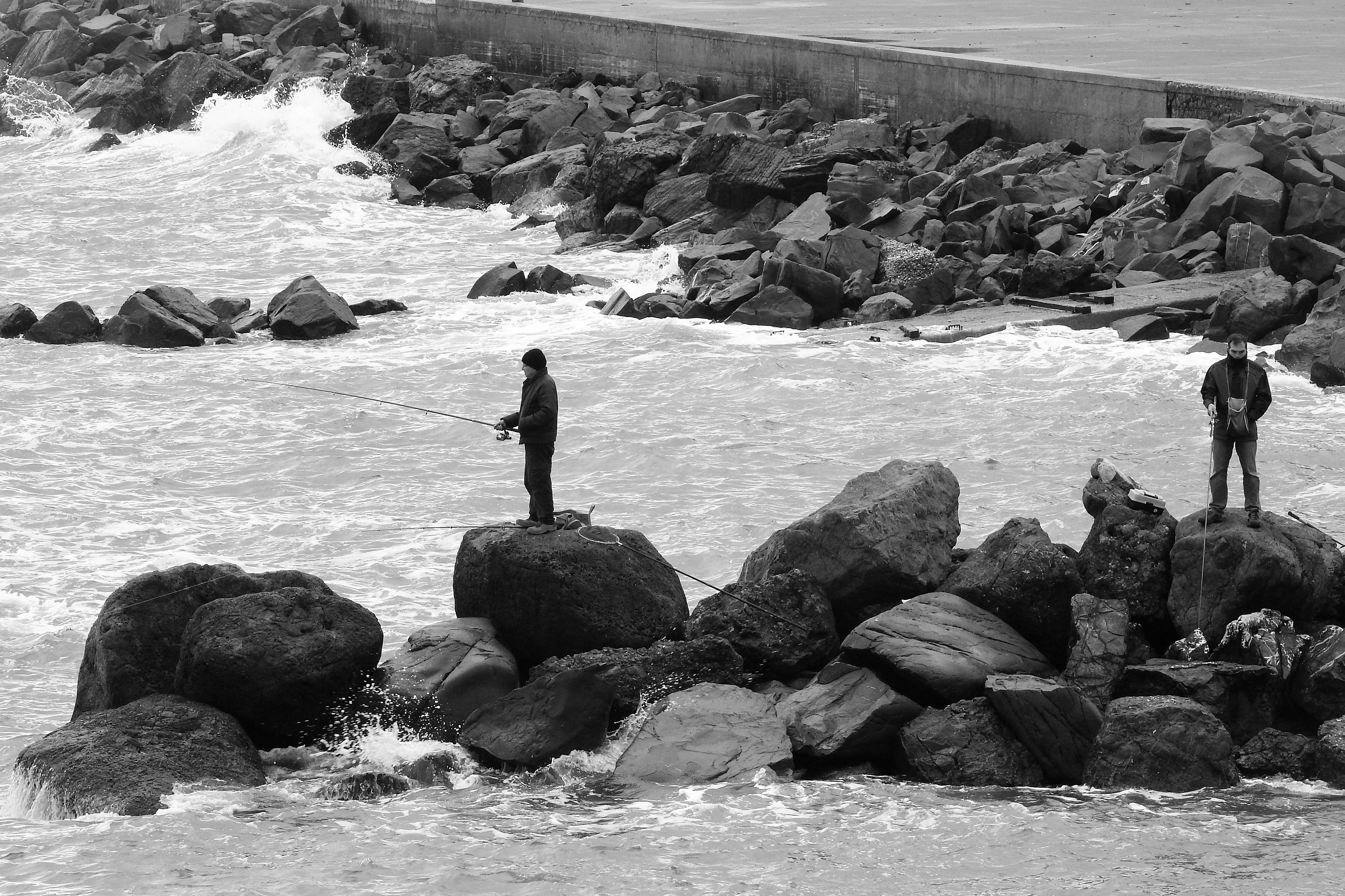 pescatori sul molo di luciano55
