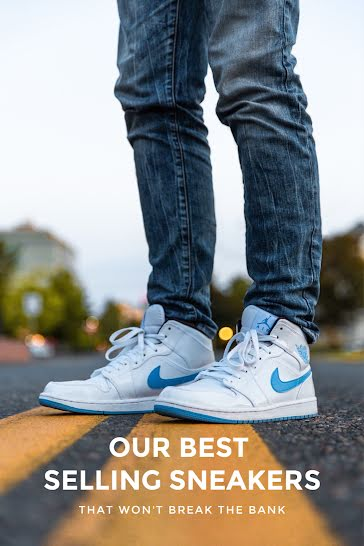 Our Best Selling Sneakers - Pinterest Pin Template