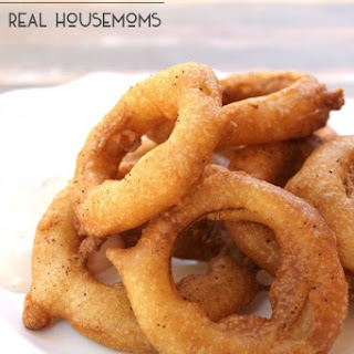 Crispy Onion Rings.