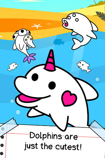 Dolphin Evolution - Mutant Porpoise Game apkdebit screenshots 1