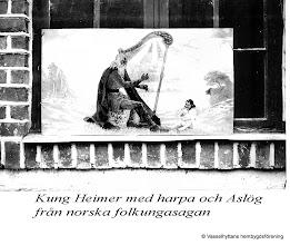 Photo: Bygdegården målning av Johan Stenström