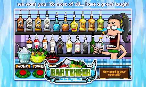 Bartender Perfect Mix  gameplay | by HackJr.Pw 15