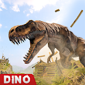 Dinosaur Counter Attack Game 2019 - Sniper Shooter icon