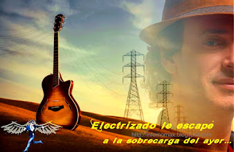 Photo: Electrizado le escapé