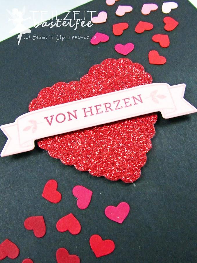 Stampin' Up! - Inkspire_me, Valentine's Day, Valentinstag, Von Herzen, Blüten der Lieben, Herzen, Liebe, Hearts, Love, Anti-Valentine, Blooming Love