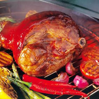 Grilled San Antonio Leg of Pork.