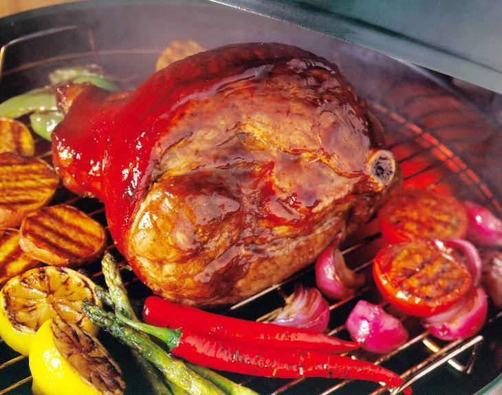 Grilled San Antonio Leg of Pork