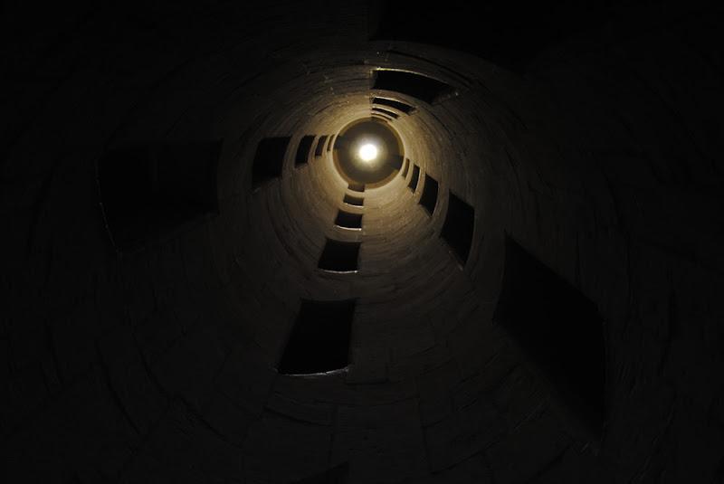 Particolare dello scalone di Chambord di Cizeta