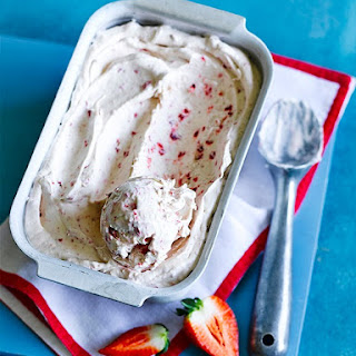 No-Churn Double Strawberry Ice Cream Recipe