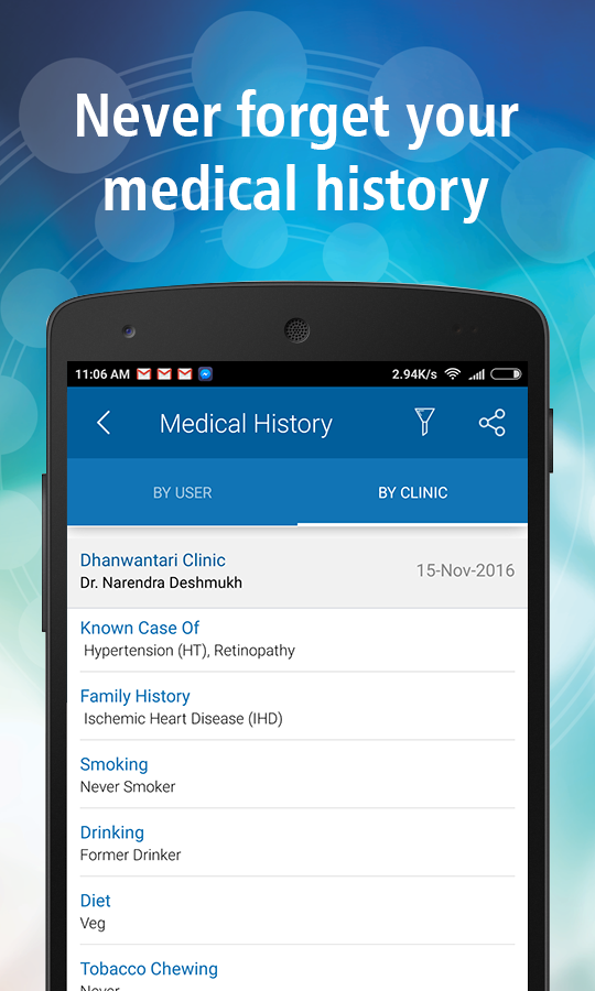 GenexEHR - Your Health Records- screenshot