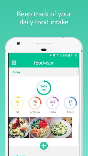 Foodvisor screenshot 2