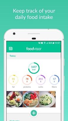 Foodvisor: Calorie Counter, Food Diary & Diet Planのおすすめ画像2