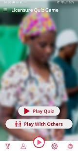 Licensure NCLEX Quiz Game Screenshot