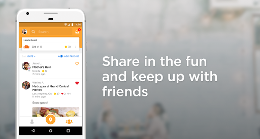 Foursquare Swarm: Check In  screenshots 3