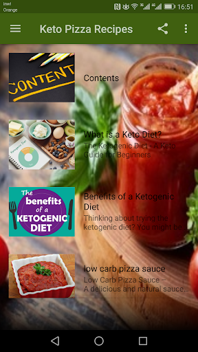 Keto Pizza Recipes 1.0 screenshots 1