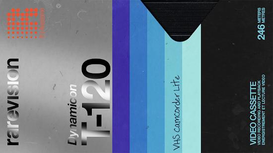 VHS Camcorder Lite (VHS Cam) 📼📹 Retro 80s Cam Screenshot