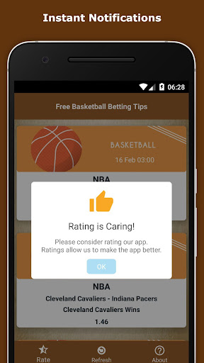 Free Basketball Betting Tips 1.5 screenshots 3