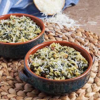 Arroz con Acelgas (Spanish Rice with Swiss Chard).