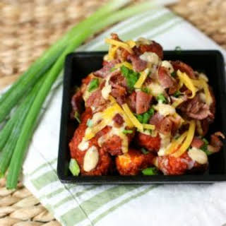 Loaded Boneless Chicken Wings.