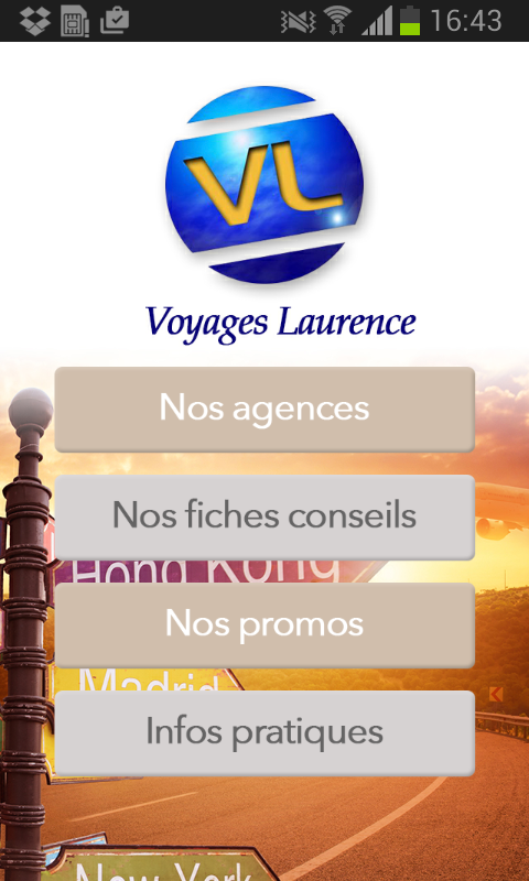 Voyages Laurence- screenshot