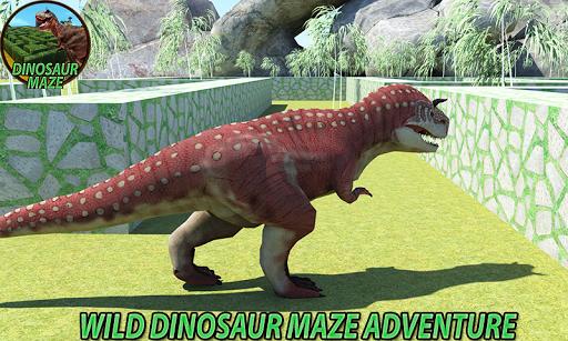Real Jurassic Dinosaur Maze Run Simulator 2018  {cheat|hack|gameplay|apk mod|resources generator} 1