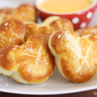 Disney Inspired Mickey Mouse Soft Pretzels.