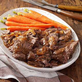 Slow-Cooked Coffee Pot Roast.