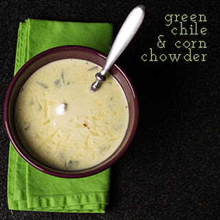 Green Chile & Corn Chowder