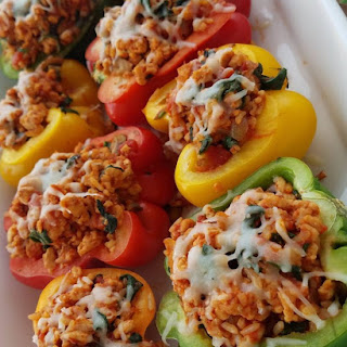 Turkey Stuffed Peppers.