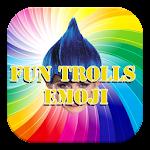 Funny Emoji For Trolls Icon