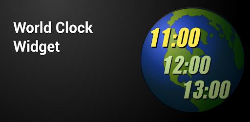 World Clock Widget - Apps on Google Play