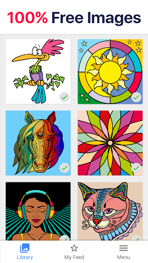 Color by Number – New Coloring Book for PC