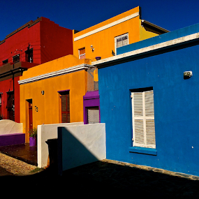 Bo Kaap by Martha van der Westhuizen - Buildings & Architecture Homes ( tourist, houses, colourful, bright, malay, bo kaap, attraction,  )