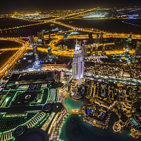 Downtown Dubai by Yadi Kustiadi - Buildings & Architecture Other Exteriors ( dubai, garyfonglandscapes, holiday photo contest, photocontest )